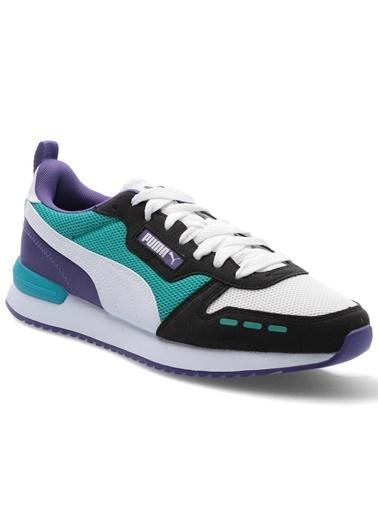Puma Unisex Siyah R78 Sneakers 373117 Renkli